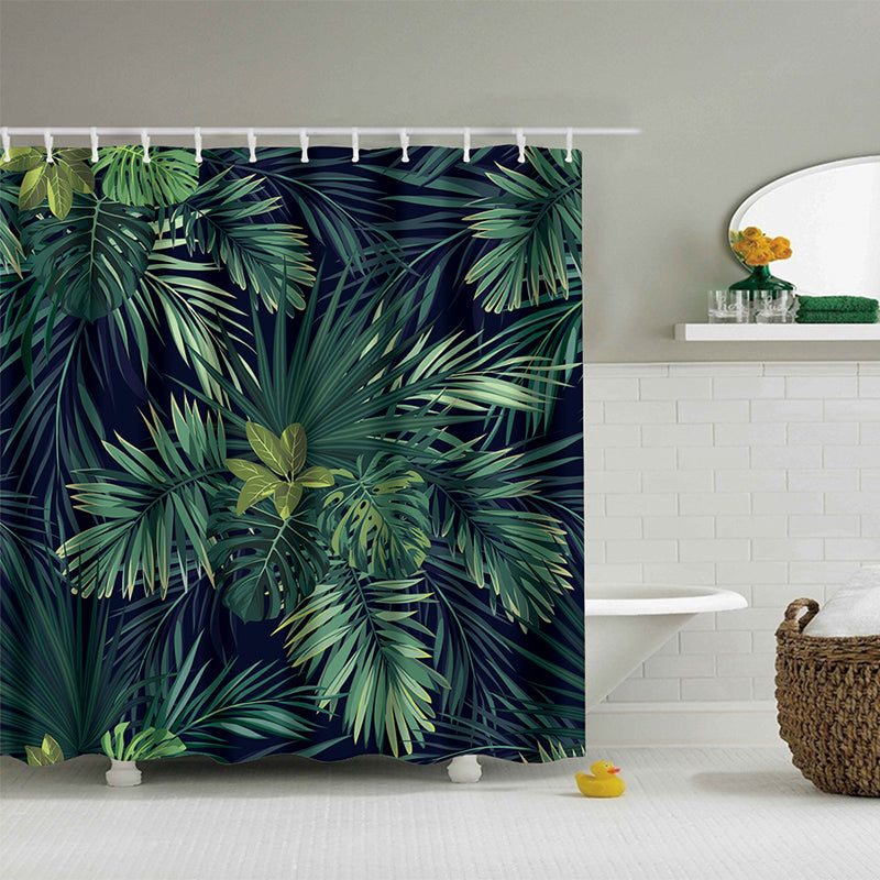 Load Image Into Gallery Viewer Fern Leaves Shower Curtain
