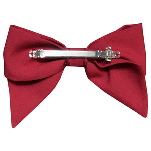 barrette cheveux accessoire hairclip mode femme paris vintage look fashion scrunchie rouge red