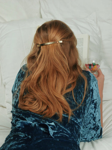 Barrette longue Scrunchie - Milla