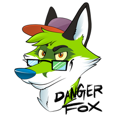 Danger Fox Portrait
