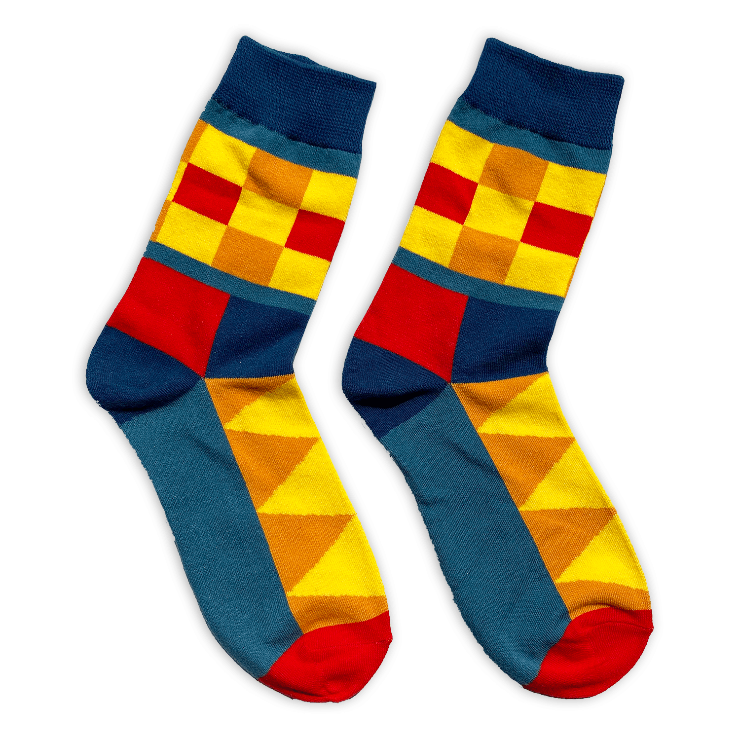 Checkered Chic - Socks