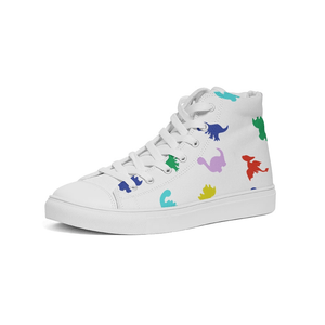 Prehistoric Rainbow - Hightop Sneaker
