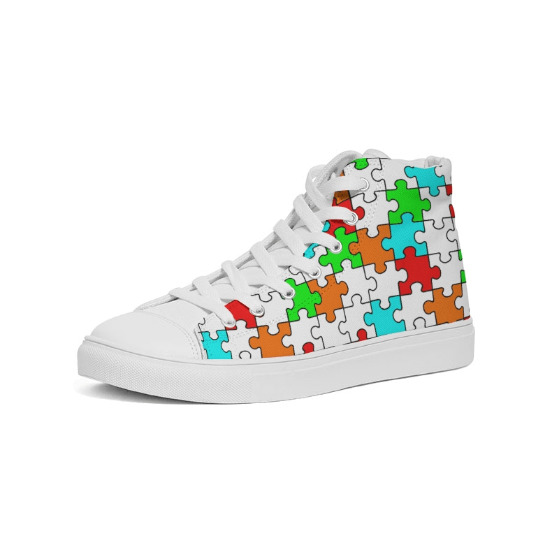 Puzzled - Hightop Sneaker