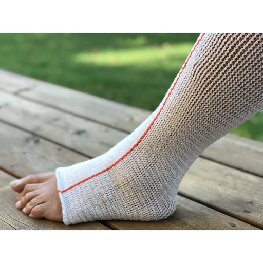 Instride.ca-Quart Medical-Wound-Compression Stockinette-CAL096034-EdemaWear® LITE Open Toe Stockinette - For Tender Skin - Singles