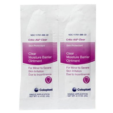 Critic-Aid® Clear , Single application packet, Box of 300