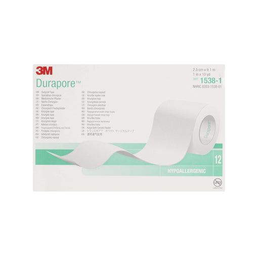 Instride.ca-3M-Wound-Medical Tape-1538-1-Durapore™ Surgical Tape