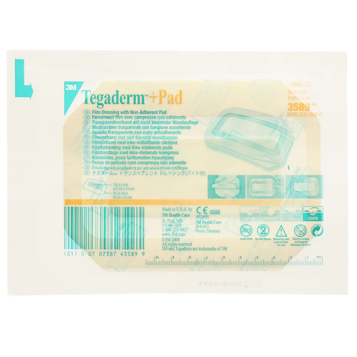 Instride.ca-3M-Wound-Film Dressing-3589-Transparent Film Dressing + Non-Adherent Pad