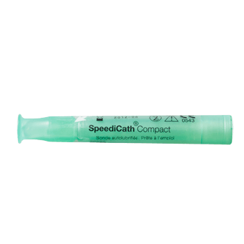 Instride.ca-Coloplast-Continence-Hydrophilic Intermittent Catheter-28812-SpeediCath®Compact Female Plus, Hydrophilic,Length 9cm, Ready to use, Polyurethane,Box of 30