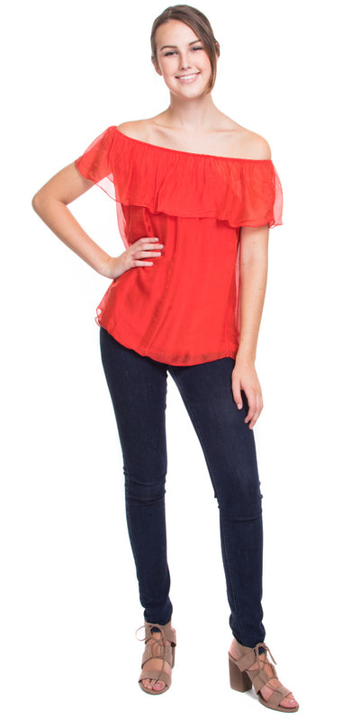 Anitta Silk Off Shoulder