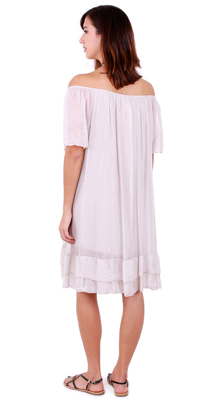 Pino Peasant Dress