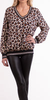 Daralice Leopard Print Blouse