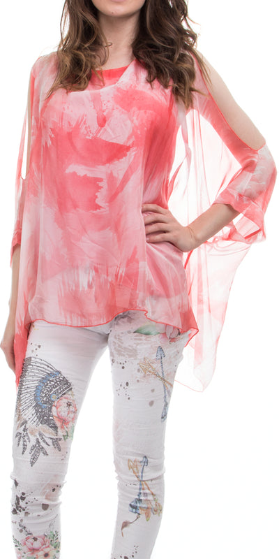 Adrina Silk Top