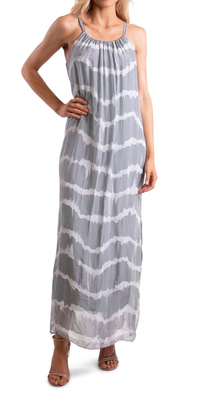 Venus Tie Dye Silk Dress
