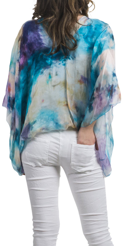 Seta Anna Watercolor Blouse