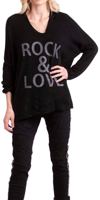 """Rock & Love"" Mohair Sweater"