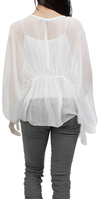 Paola Bat-Wing Blouse