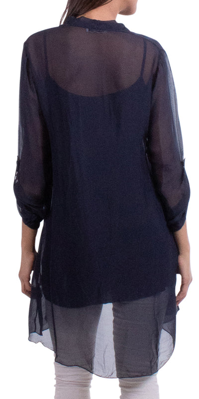 Mona Sheer Tunic