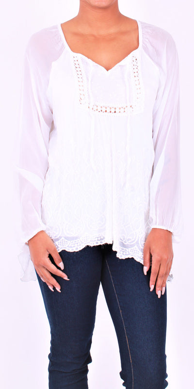 The Dalia Blouse