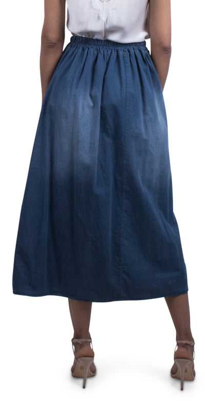 Laura Denim Skirt
