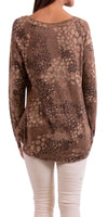 Analia Print Sweater