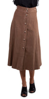 Madison Corduroy Skirt