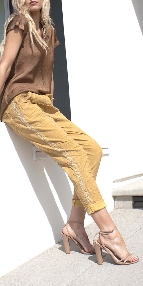 Caterina Cotton Pants