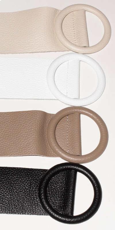 Violetta Belt with Buckle
