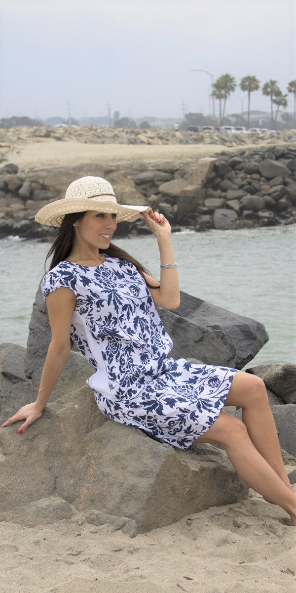 Liliana Linen Dress