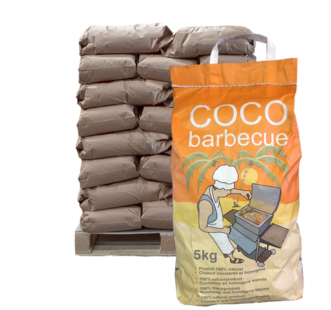 Coco Barbecue 5kg - 120 bags/pallet