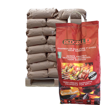 Red Grill 4kg - FSC MIX 112 sacs/Palette