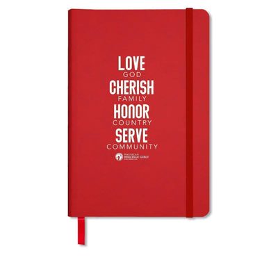 Ahg Comfort Touch Journal Red 4095 Gift Sales