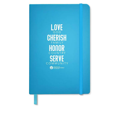 Ahg Comfort Touch Journal Light Blue 4095 Gift Sales