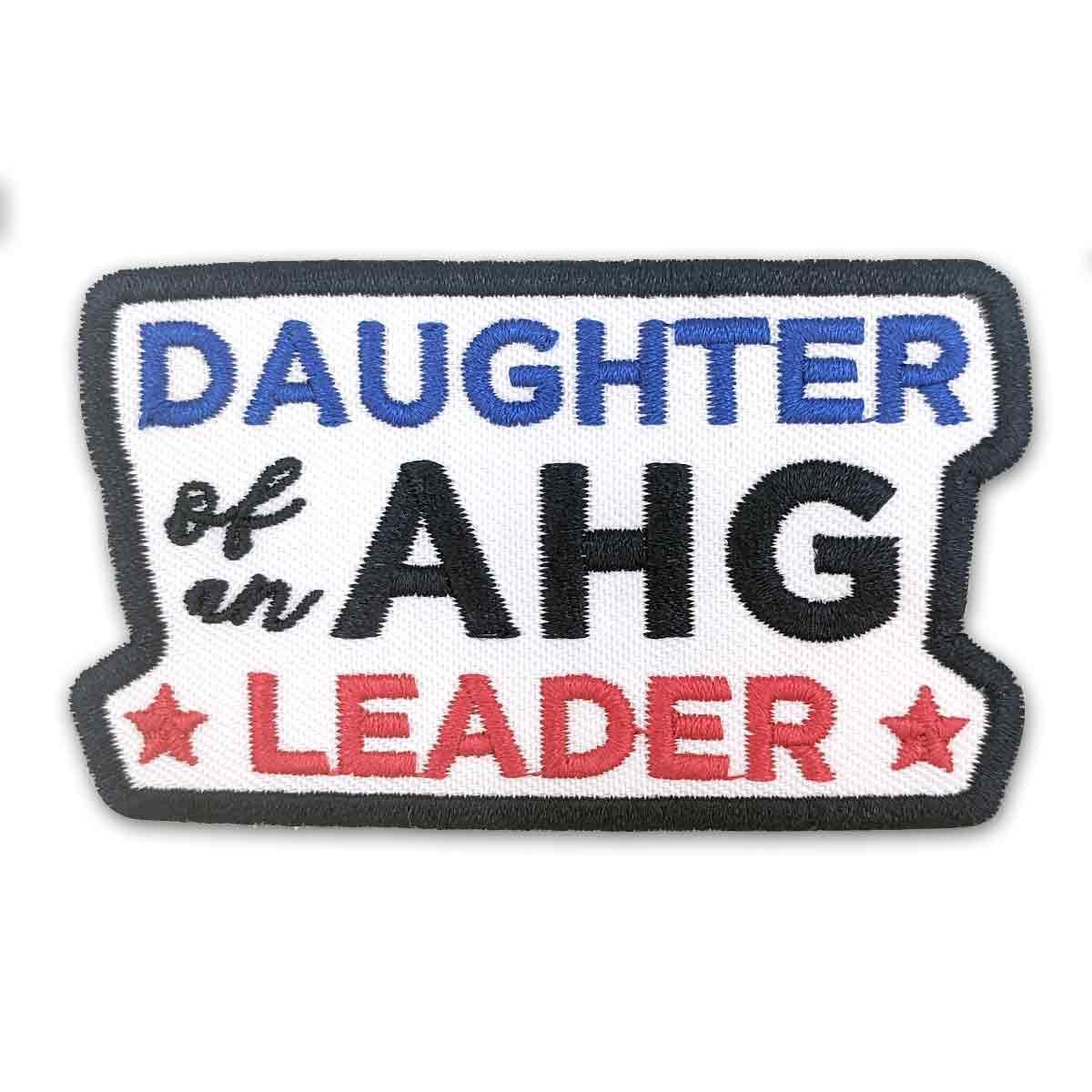 Ahg Daughter Of A Leader Patch 4130 Uniform Accessories