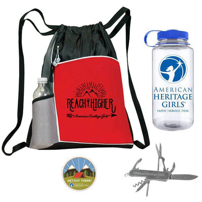 Ahg Hiking Bundle Red 4095 Gift Sales