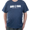 Ahg Dad T-Shirt Vintage Navy / Am 4110 Wearables