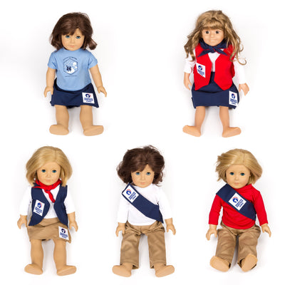 Ahg Official Class A Uniform Doll Outfit 4095 Gift Sales