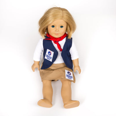 Ahg Official Class A Uniform Doll Outfit Explorer 4095 Gift Sales