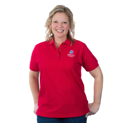 Ahg Official Short-Sleeved Adult Uniform Polo Red / 2Xl 4135 Uniforms