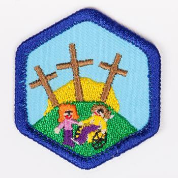 All Gods Children Badge Blue-Th 4140 Badges