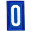 Blue Troop Number Patches / 0 4135 Uniforms