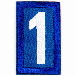 Blue Troop Number Patches / 1 4135 Uniforms