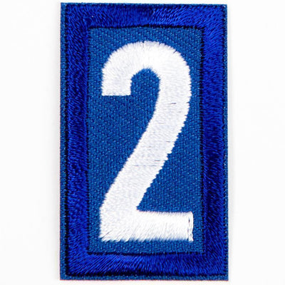Blue Troop Number Patches / 2 4135 Uniforms