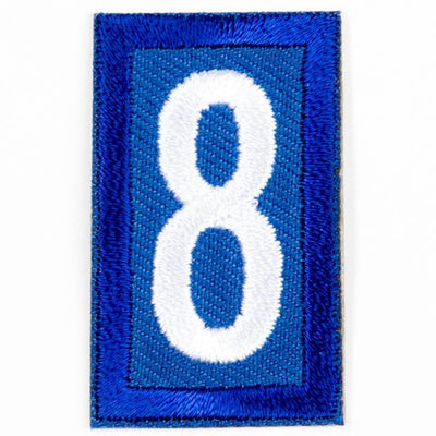 Blue Troop Number Patches / 8 4135 Uniforms