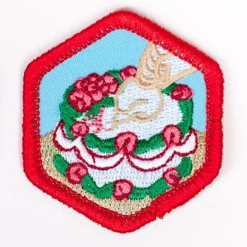 Cake Decorating Badge Red-Ex 4140 Badges