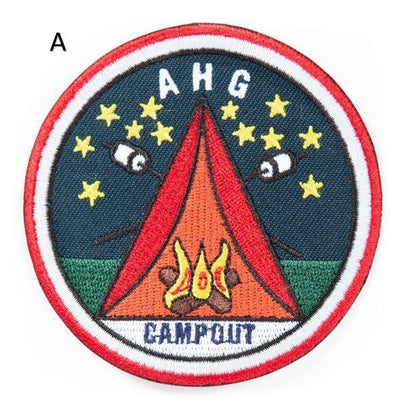 Campout Patch A 4130 Uniform Accessories