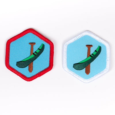 Canoeing Badge 4140 Badges