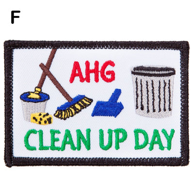 Clean Up Day Patches F 4130 Uniform Accessories