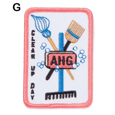 Clean Up Day Patches G 4130 Uniform Accessories