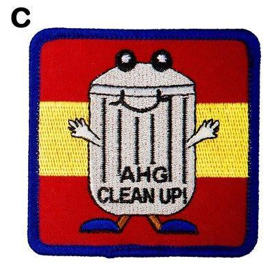Clean Up Day Patches C 4130 Uniform Accessories