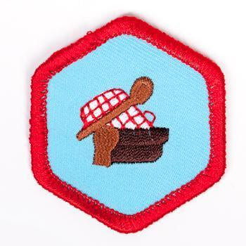 Cooking Badge Red-Ex 4140 Badges